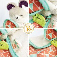 B.Toys Muchláček králiček Fluffy Bunz 5