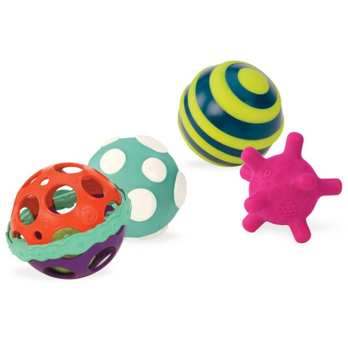 B-toys sada míčků Ballabaloos