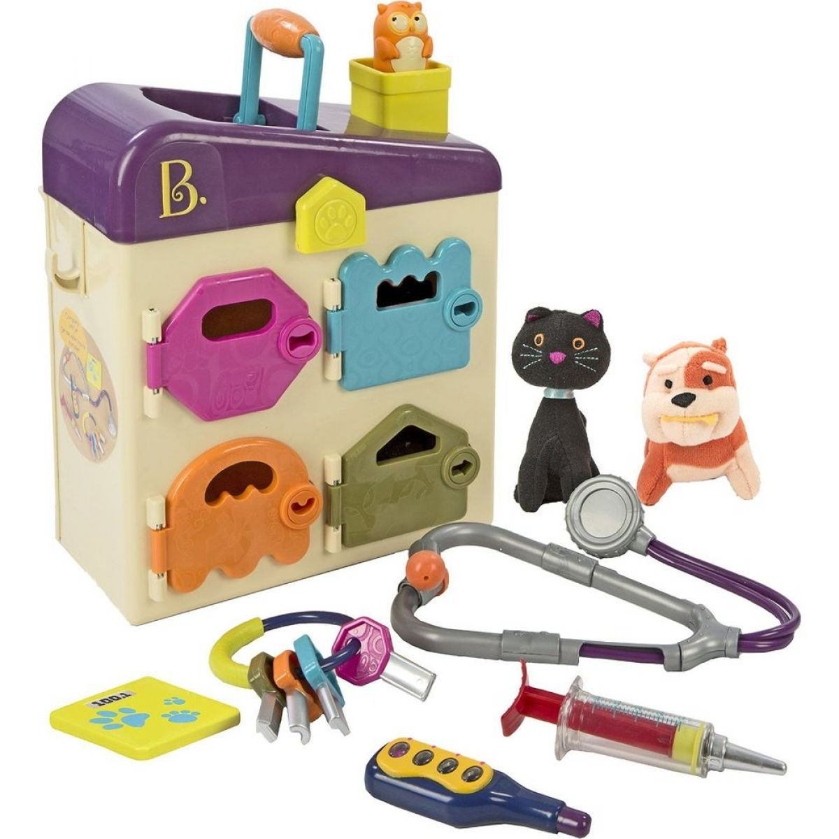 B.toys zverolekárske kufrík Pet Vet Clinic