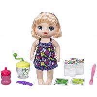 Baby Alive Blonďavá bábika s mixérom