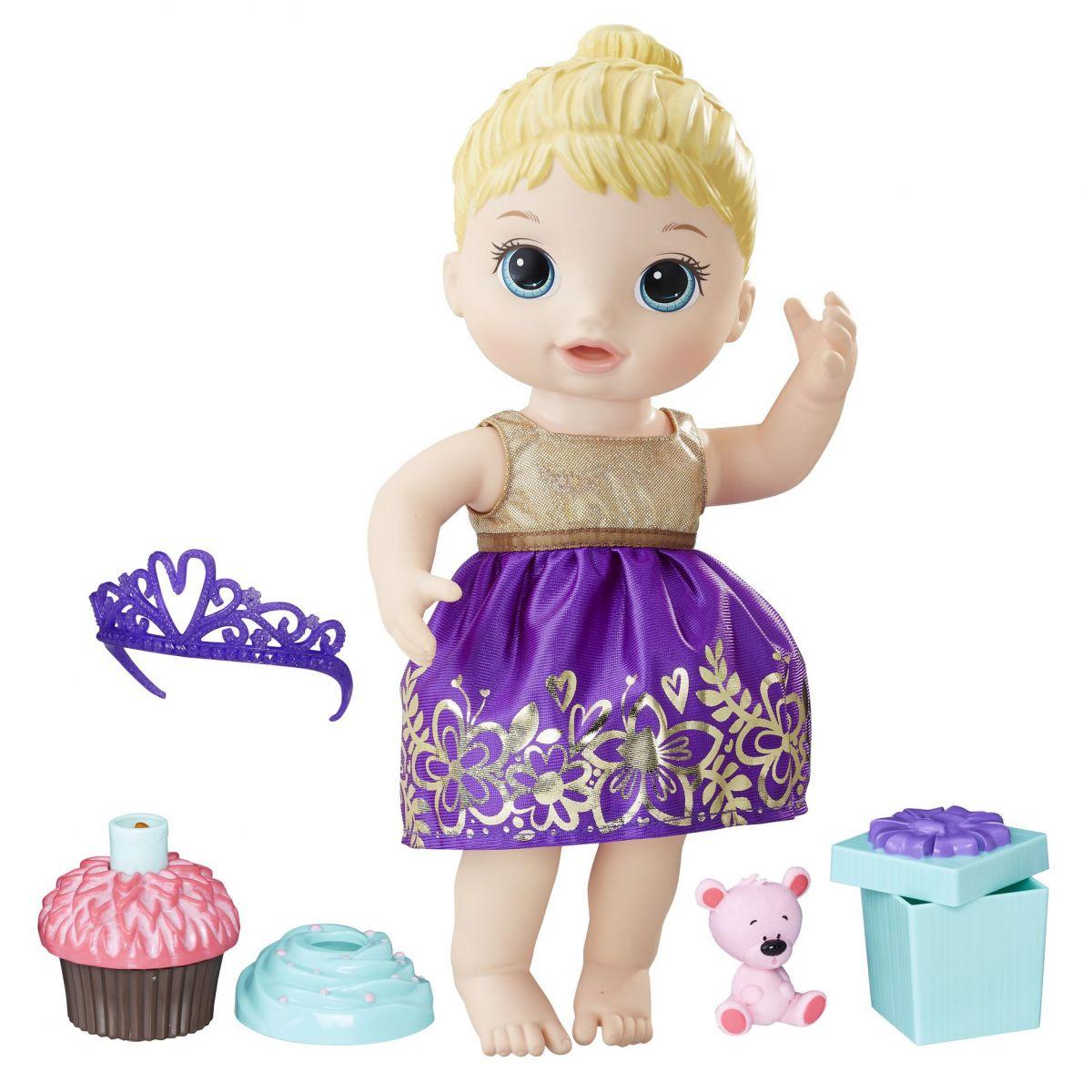 Baby Alive Narodeninová blonďavá bábika