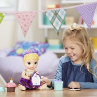 Baby Alive Narodeninová blonďavá bábika 4