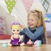 Baby Alive Narodeninová blonďavá bábika 6