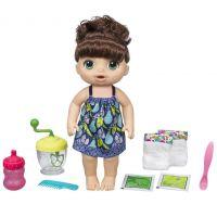 Baby Alive Tmavovlasá bábika s mixérom
