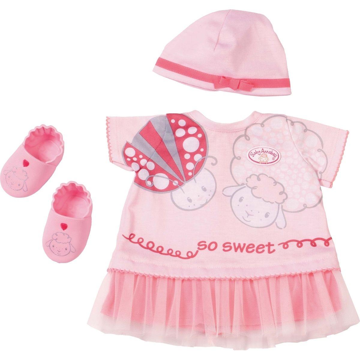 Zapf Creation Baby Annabell Deluxe Oblečení Letní sen