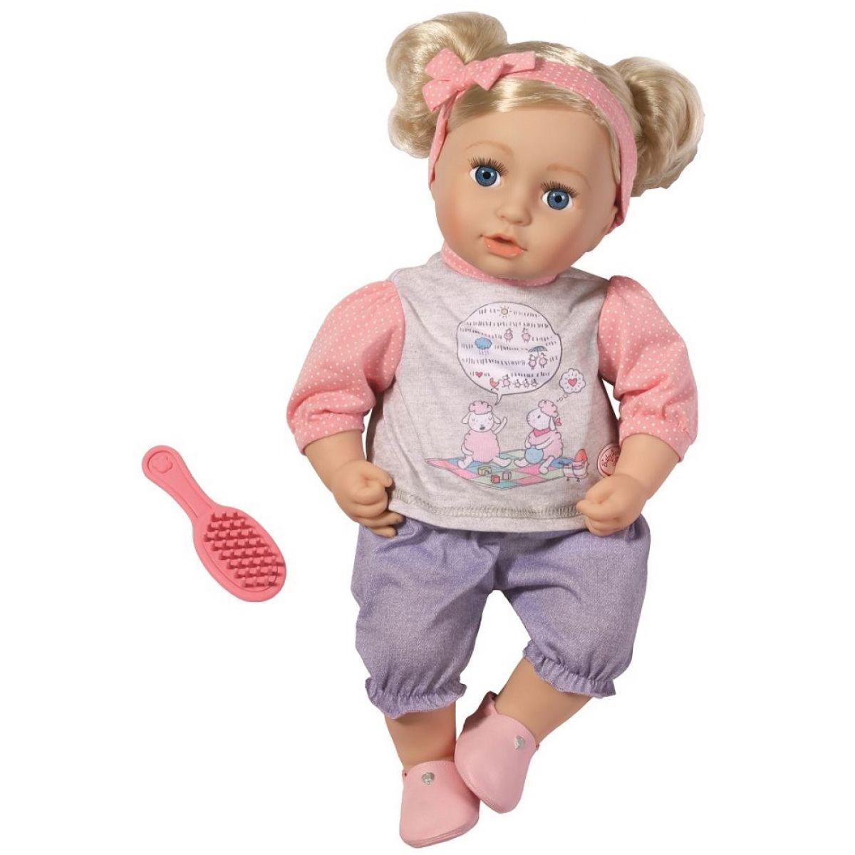 Baby Annabell Bábika Sophia s vláskami