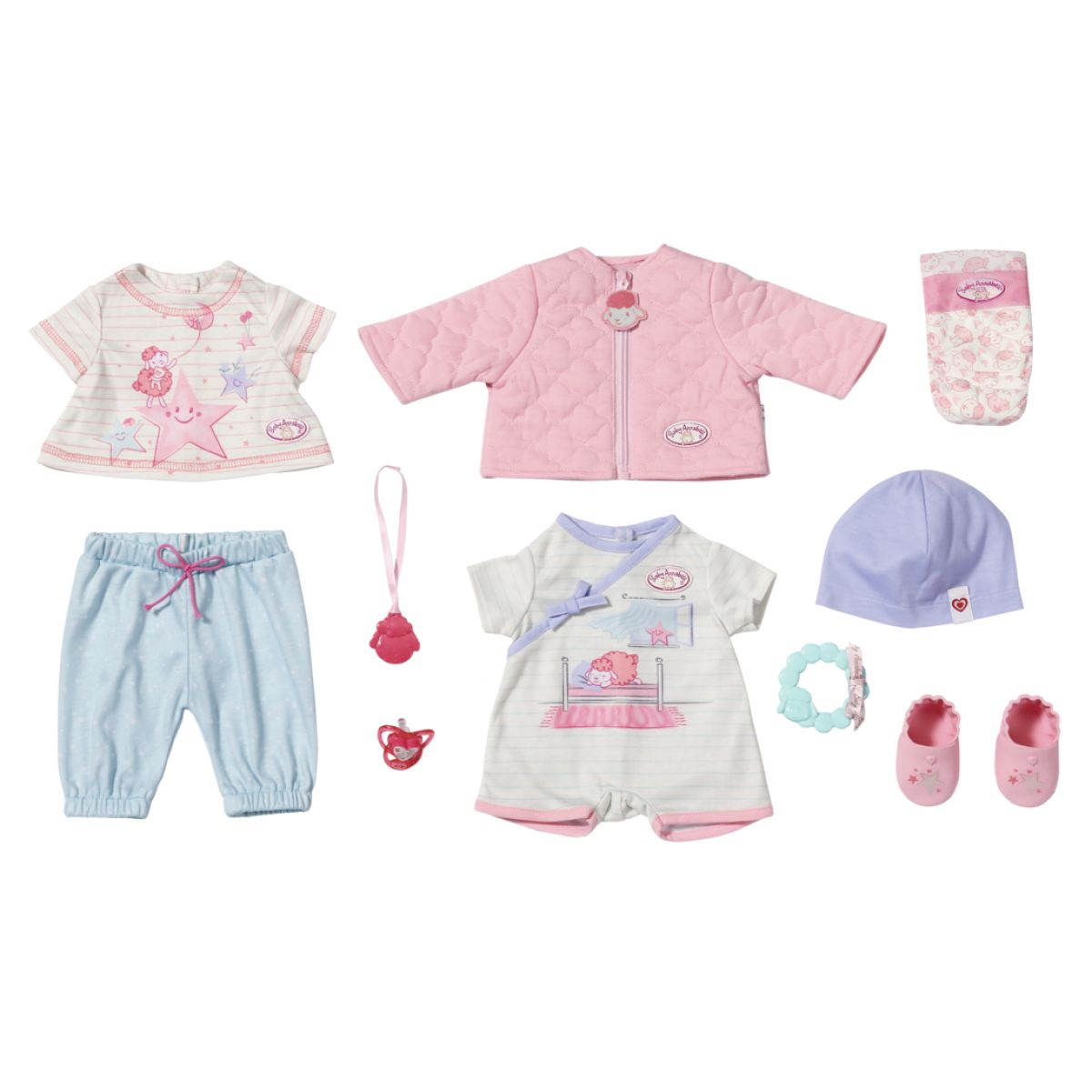 Zapf Creation Baby Annabell Sada oblečenie