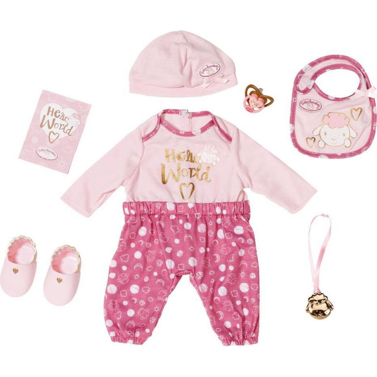 Zapf Creation Baby Annabell Súprava pre bábätko Deluxe, 43 cm
