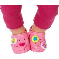 Baby Born Gumené sandále - Ružová svetlá 2