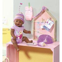 Baby Born Interaktívna bábika černoško 5