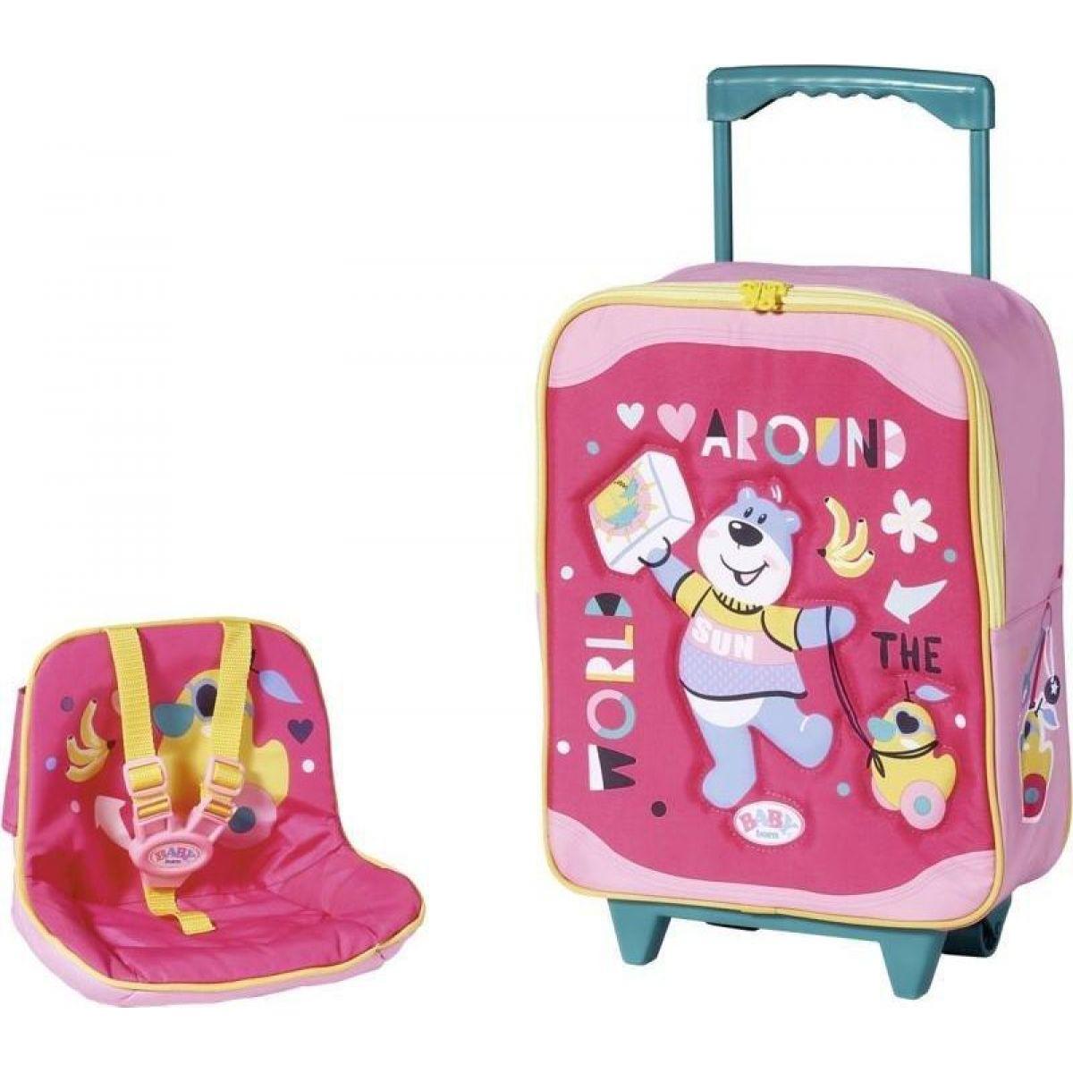 Zapf Creation Baby born Kufrík so sedačkou pre bábiky