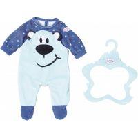 Zapf Creation Baby Born Oblečení Sametový overal Modrý