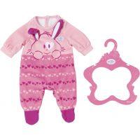 Zapf Creation Baby Born Oblečení Sametový overal Růžové