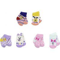 Zapf Creation BABY born 43 cm Ponožky 2 páry