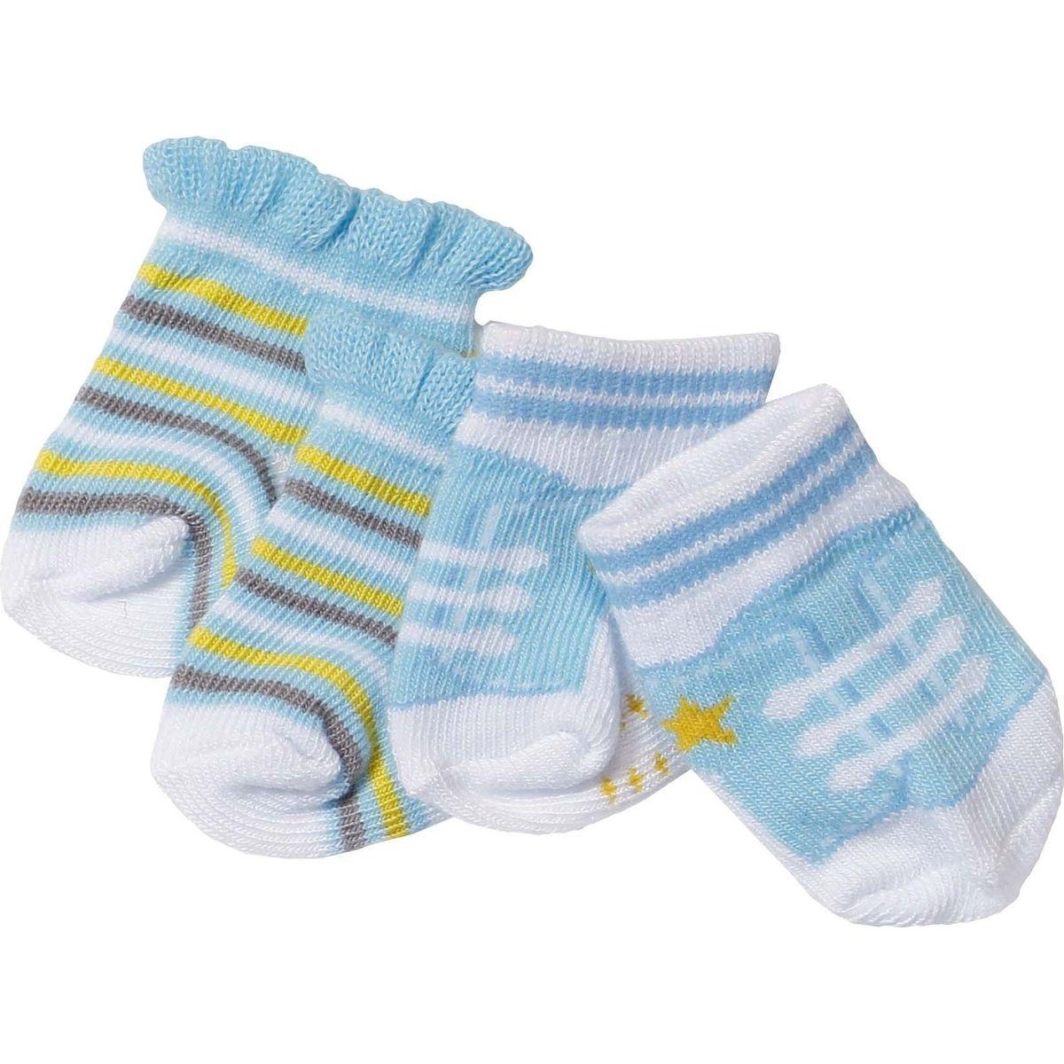 ZAPF CREATION BABY Born Ponožky 2 páry