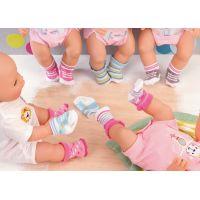 ZAPF CREATION BABY Born Ponožky 2 páry 3