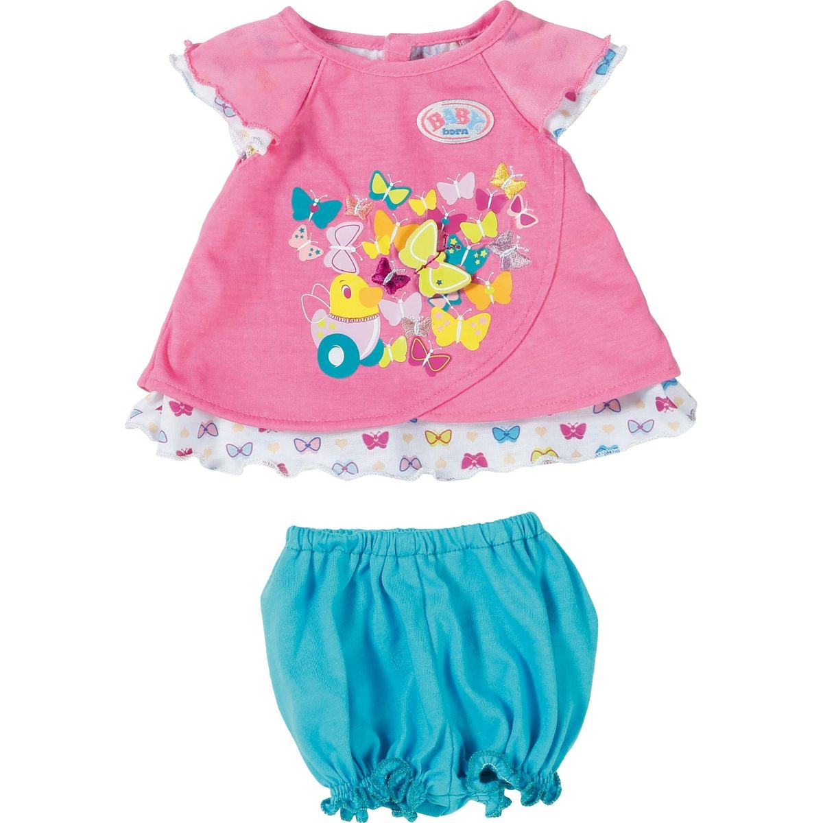 Zapf Creation Baby Born Šaty s motýlikom
