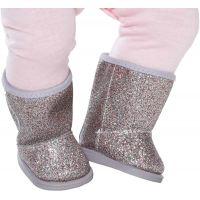 Baby Born Zimné sedemmíľové topánky Strieborné 2
