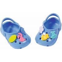 Baby Born Gumové sandály Modrá