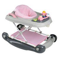 BabyGo chodítko Walker 4v1 Pink 2