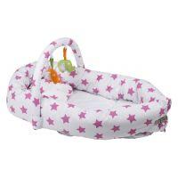 BabyGo hniezdočko Bettnest Pink 2