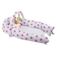 BabyGo hniezdočko Bettnest Pink 3