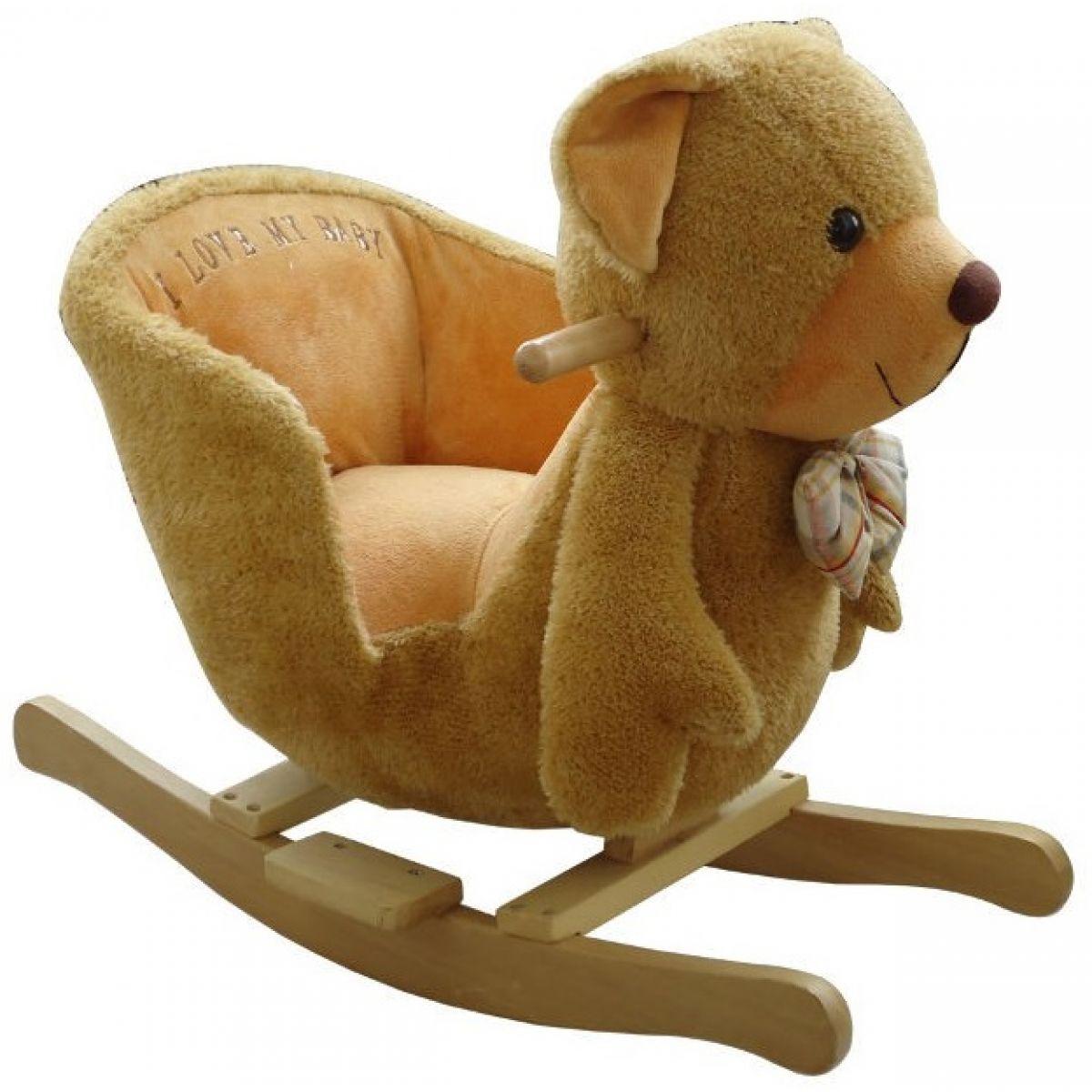 BabyGo hojdacia zvieratko Medvídek