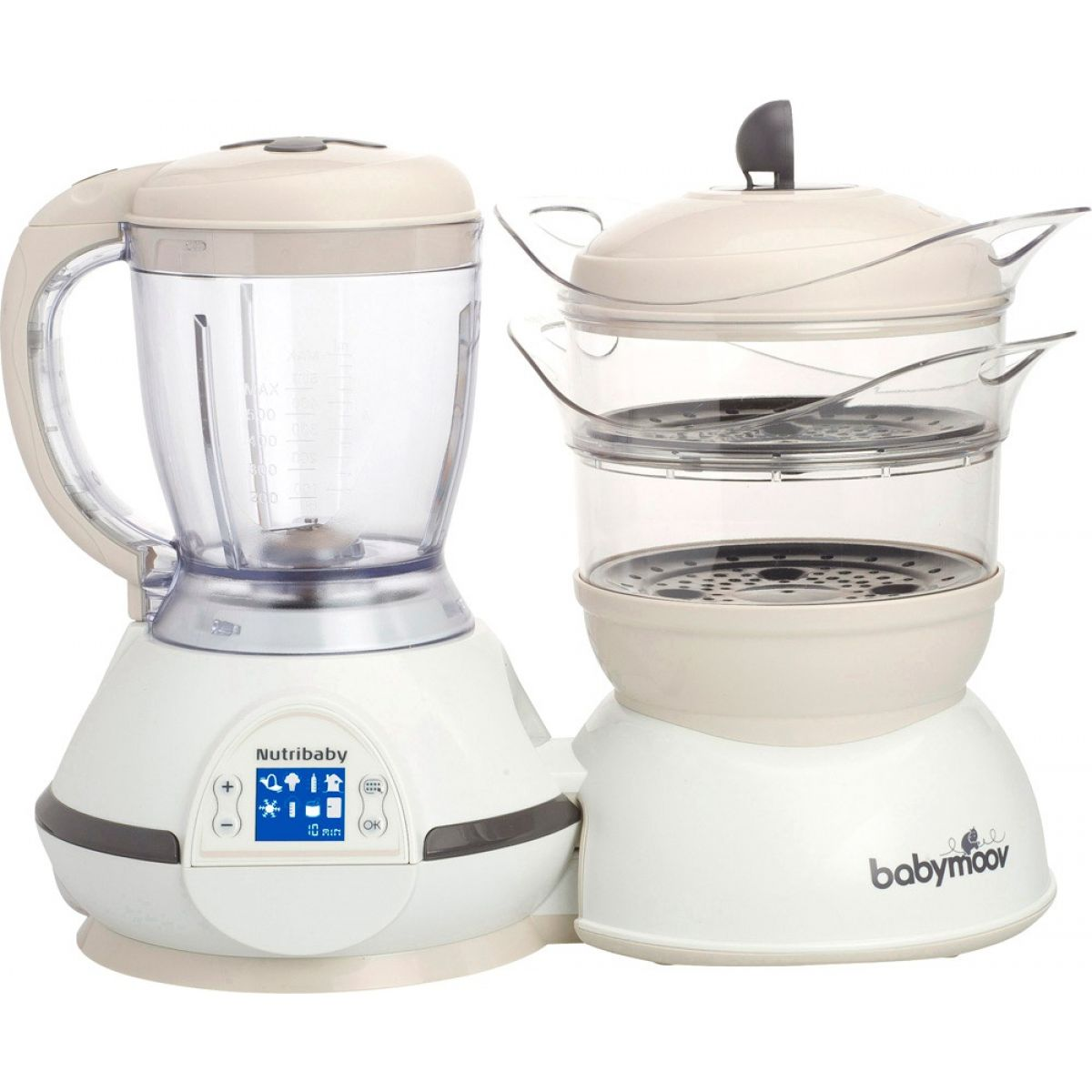 Babymoov Multifunkčný prístroj Nutribaby Cream