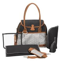 Babymoov Style Bag Black sivá/modrá
