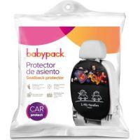Babypack Organizer a ochrana autosedadla, čierny 2