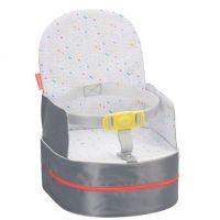 Badabulle přenosná židlička 2v1 On-the-Go sivá