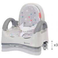 Badabulle prenosná stolička Comfort grey 2