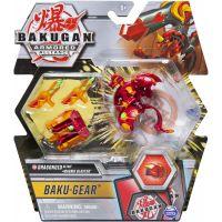 Bakugan bojovník s přídavnou výstrojí s2 Tretorous Ultra Baku Gear černý
