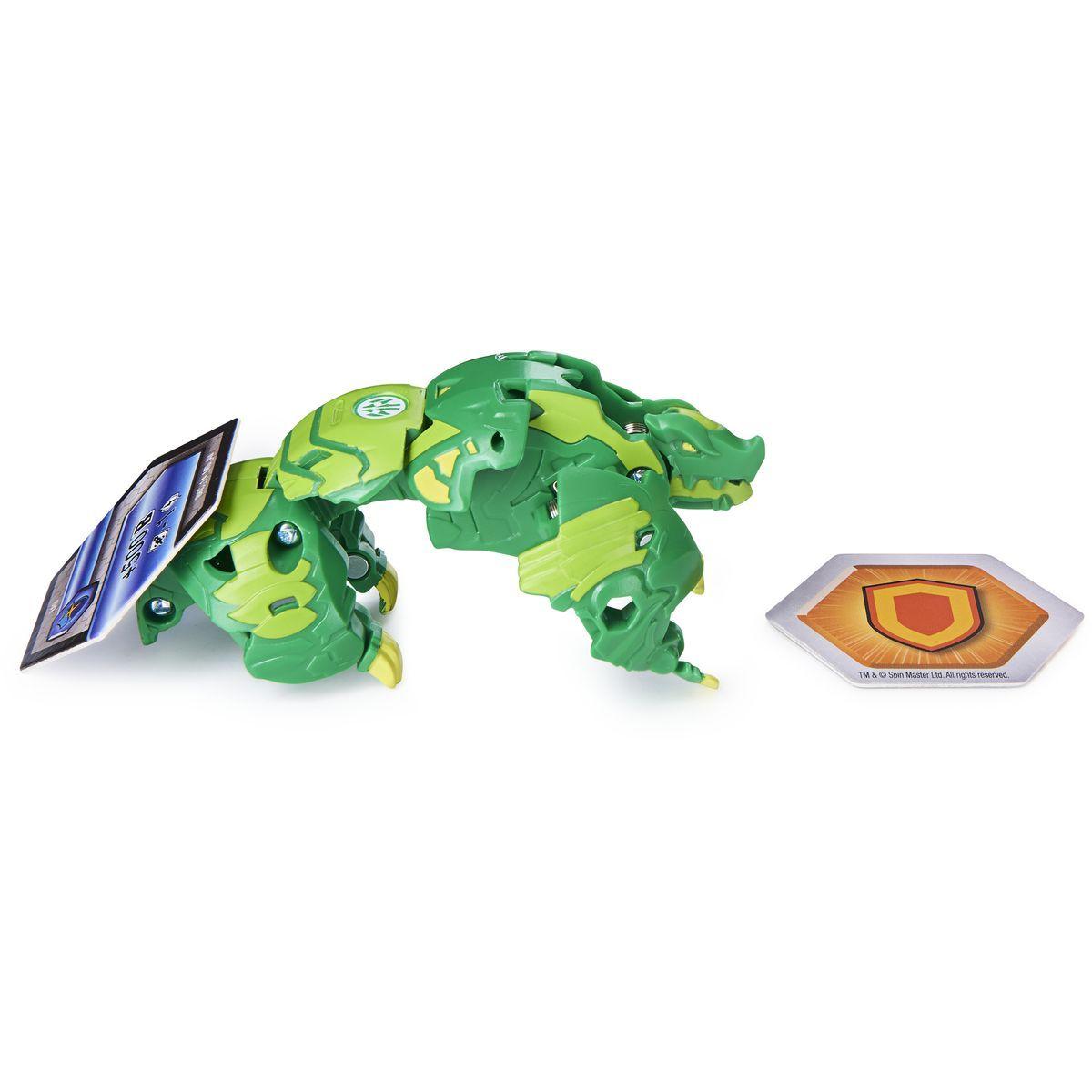 Bakugan bojovník s prídavnou výstrojou s2 Gillator zelený