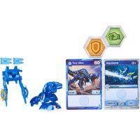 Bakugan bojovník s prídavnou výstrojou s2 TROX modrý