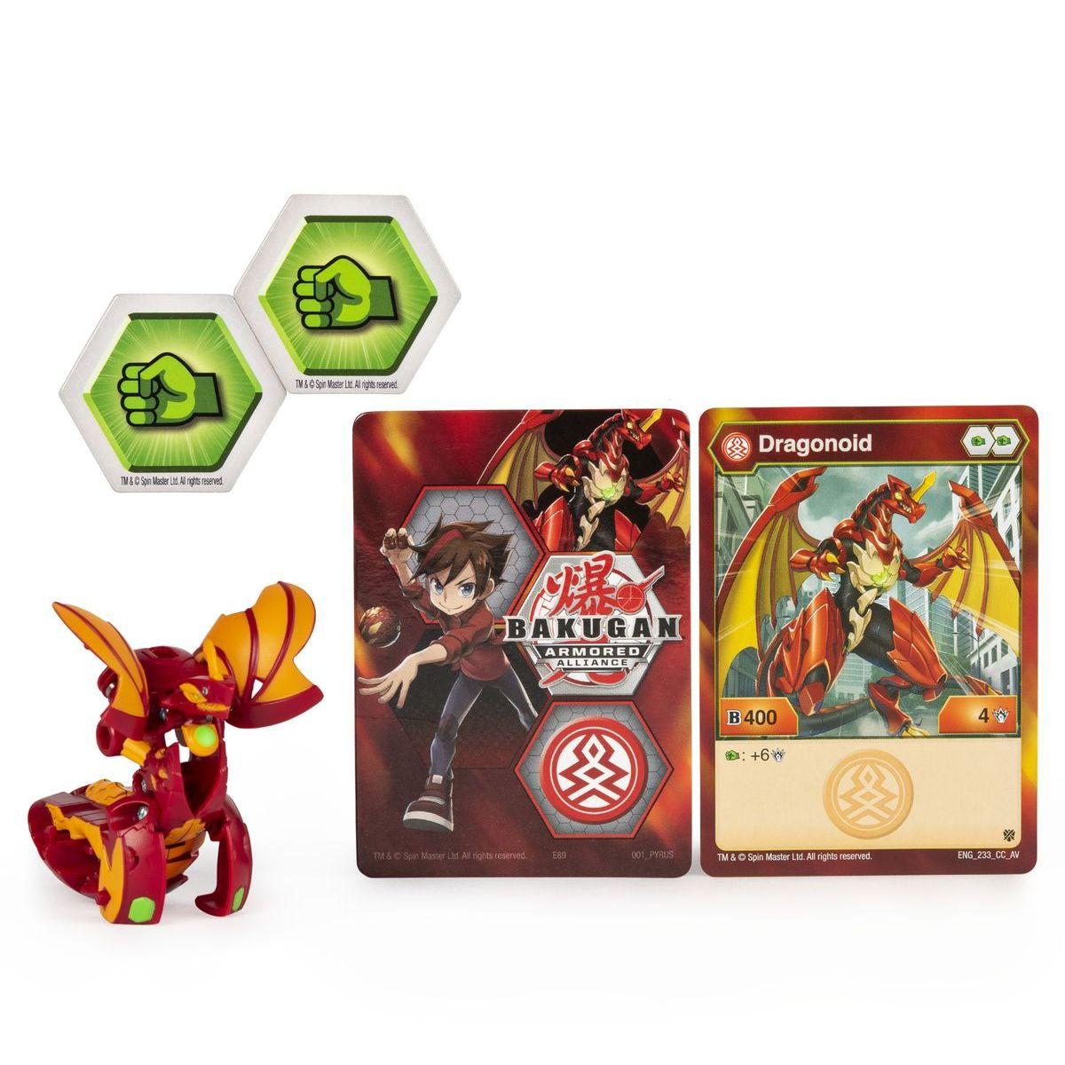 Bakugan základné balenie s2 Dragonoid červený