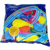 Balónik nafukovací Pastel 100 ks 2