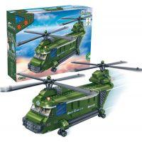 Mikro Trading Stavebnica BanBao Armáda 8852 Vojenský vrtulník 2
