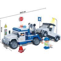 Mikro Trading Stavebnica BanBao Policie 8345 Policejní odtahovka 2