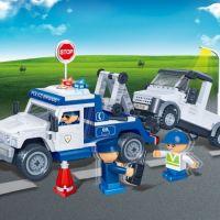 Mikro Trading Stavebnica BanBao Policie 8345 Policejní odtahovka 3