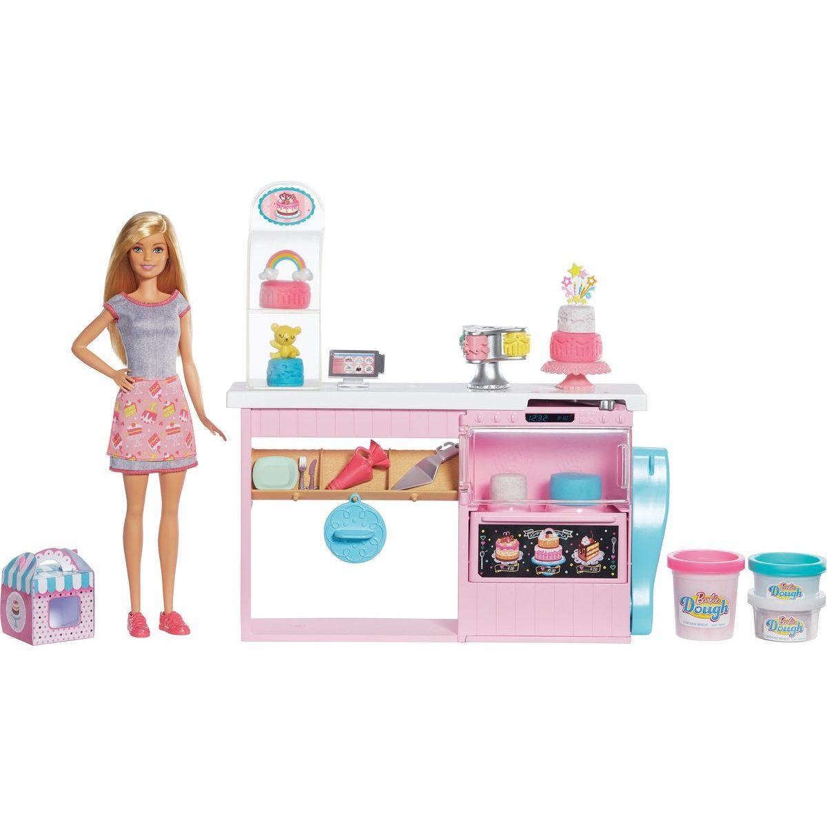Barbie cukrárstvo herné set