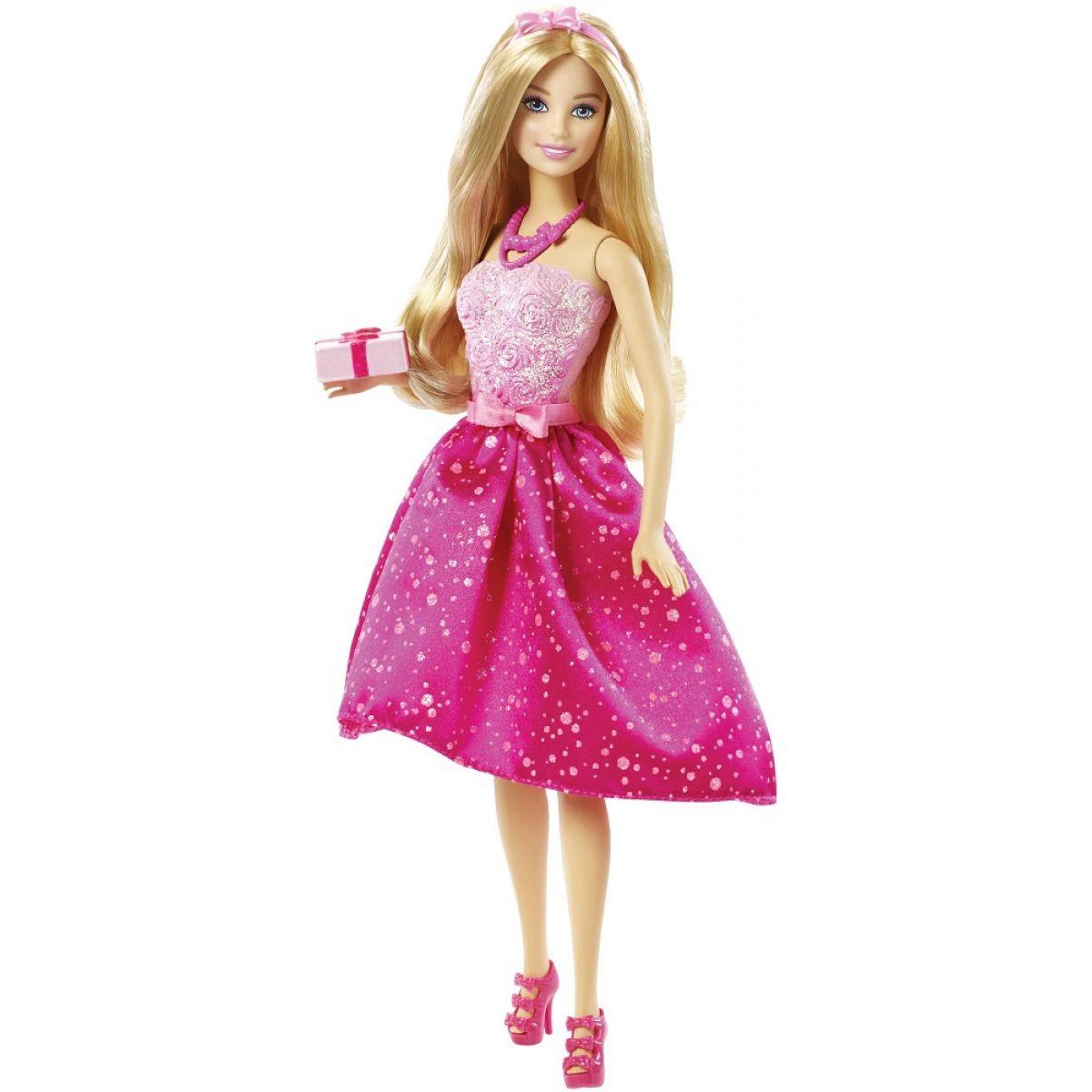 MATTEL Barbie Narozeninová