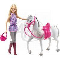 Barbie bábika s koňom 2