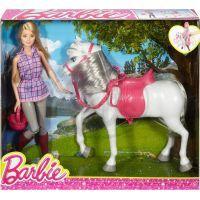 Barbie bábika s koňom 6