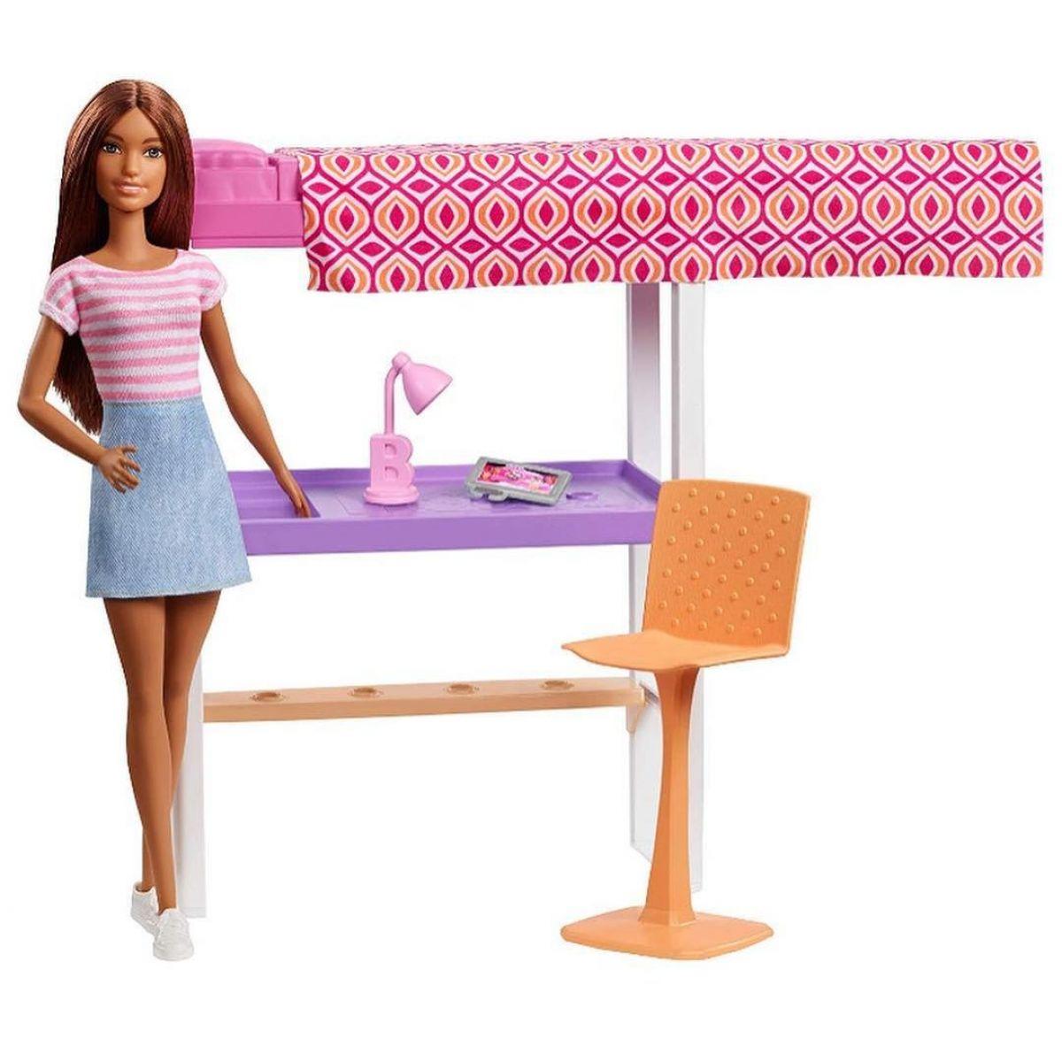 Barbie bábika s nábytkom Pracovňa