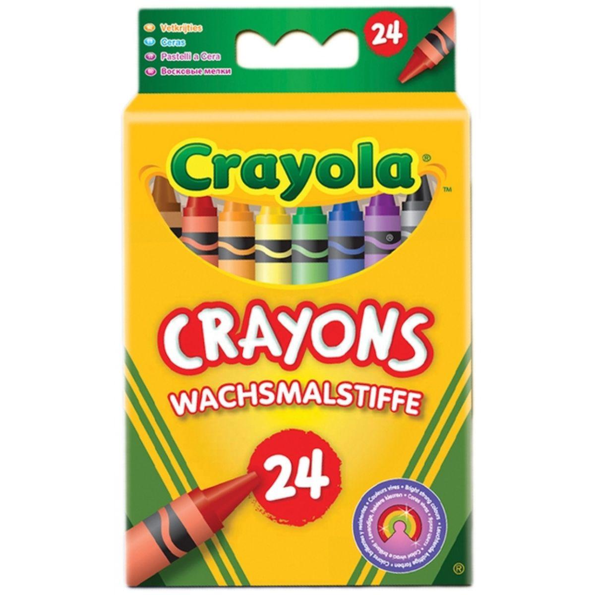 Crayola Farebné voskovky 24 kusov