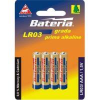Bateria Slaný CZ Baterie Grada LR03 AAA 1,5V 4ks