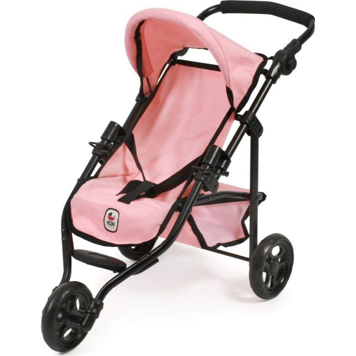 Bayer Chic Trojkolka Lola ružový poťah