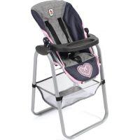 Bayer Chic 65526 Jedálenská stolička a chrbátové nosítko pre bábiky