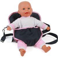 Bayer Chic Klokanka pre bábiku ružový lem
